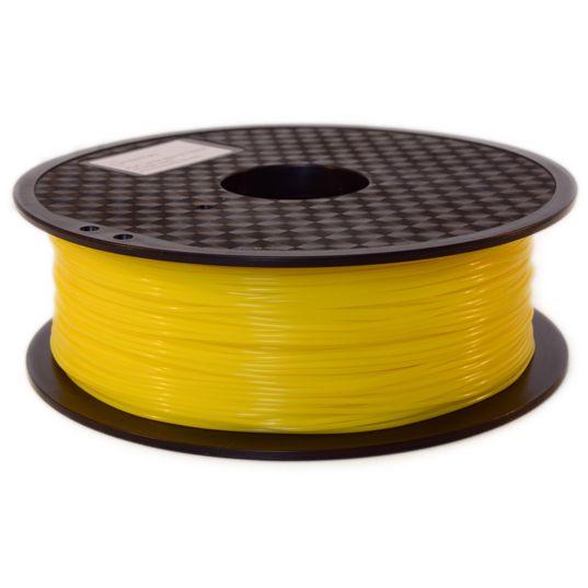 Filament PLA jaune - Filament PLA jaune qualité premium superbe couleur - Filament PLA jaune diamètre 1,75 mm pour imprimante 3D FDM