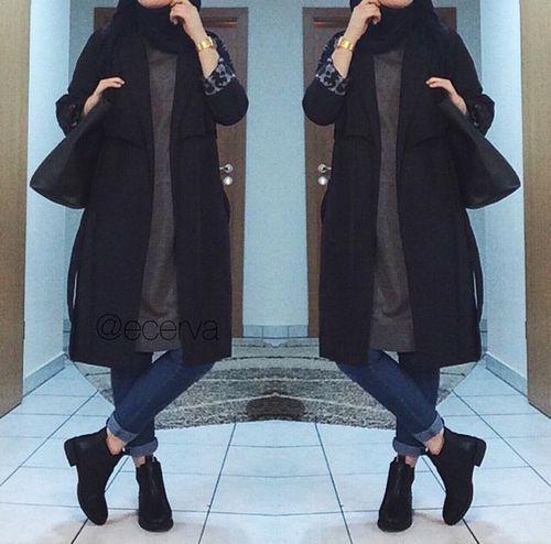 hijab//I need the black coat!