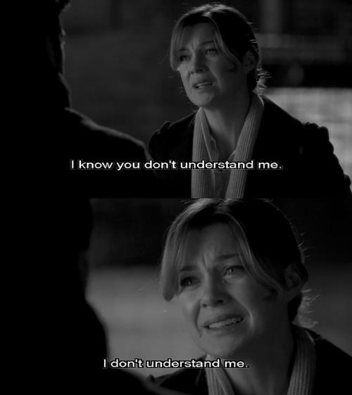 Oh Grey's Anatomy. I remember this episode so clearly...I cried so hard during this scene! Yes, I cried. Sue me! It was sad, okay??