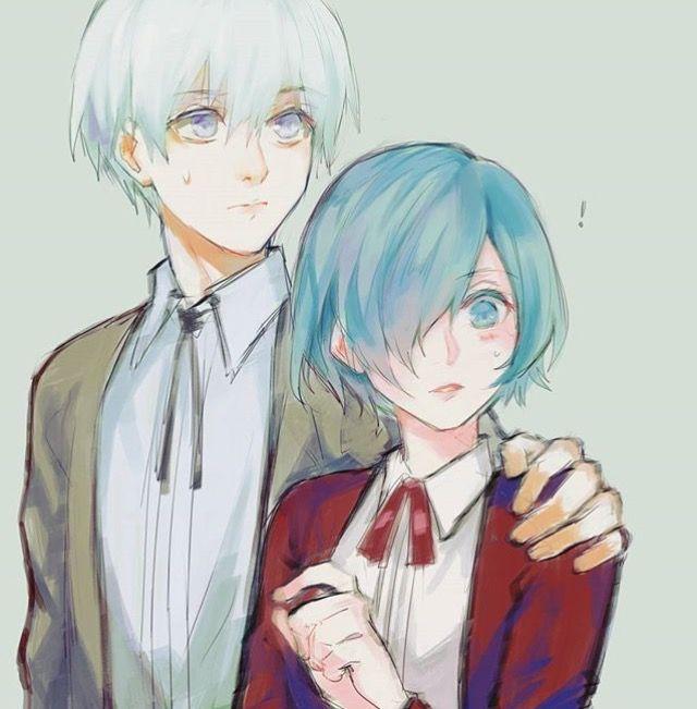 Kaneki and touka
