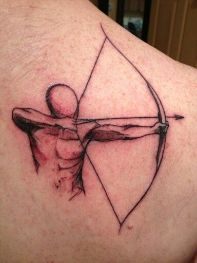 Archery tattoo