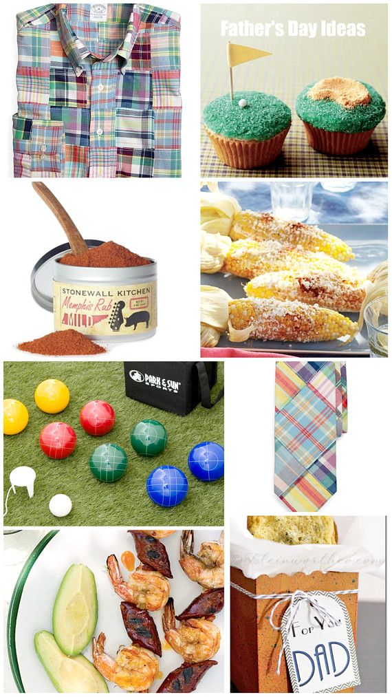 Father's Day Ideas - Bocce Ball - Grilled Corn - Homemade Treats