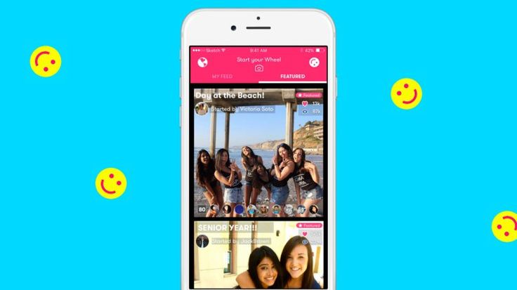 Tinder acquires Wheel an app for creating Snapchat-like video stories Dating app Tinder is looking to get into video. The company announced today its acquiring an L.A.-based startup called Wheel which had developed a social network for sharing video stories that were said to closely resemble Snapchats Stories. Deal terms were not revealed but Tinder says that it will integrate videofeatures into its app in the future.  Wheel was originally founded in 2015 when it was then called Ferris.The…