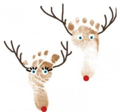 reindeer-footprint-craft.jpg (387×361)