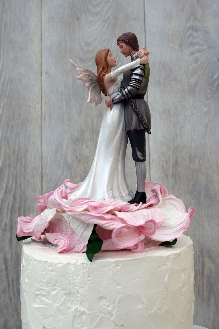 27 Best Fantasy Cake Toppers Images On Pinterest Wedding
