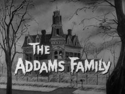 The Addams Family is an American television series based on the characters in Charles Addams' New Yorker cartoons. The 30-minute series was shot in black-and-white and aired for two seasons on ABC from September 18, 1964, to April 8, 1966,