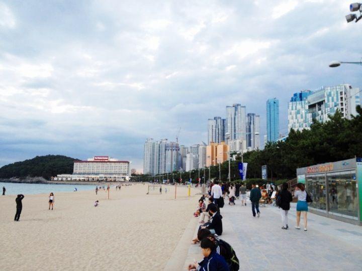 해운대 해수욕장 (Haeundae Beach) in 부산광역시
