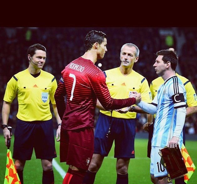 Cristiano Ronaldo and messi both of the most pay athletes in the world of soccer, every time they play  everybody wants to watch it because they are like rivals