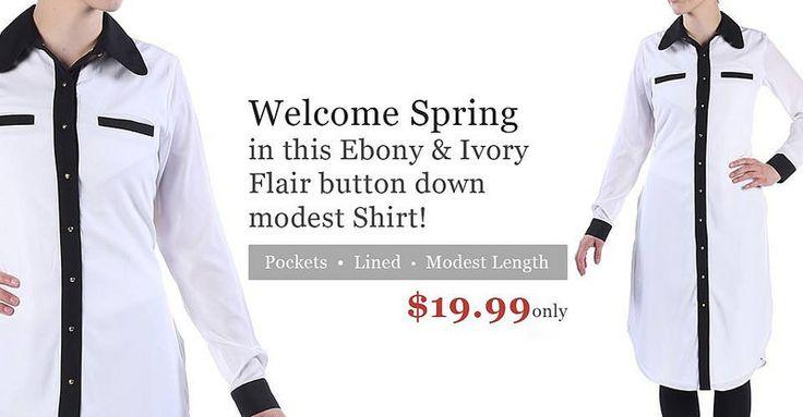 Flair Button Down Shirts at EastEssence