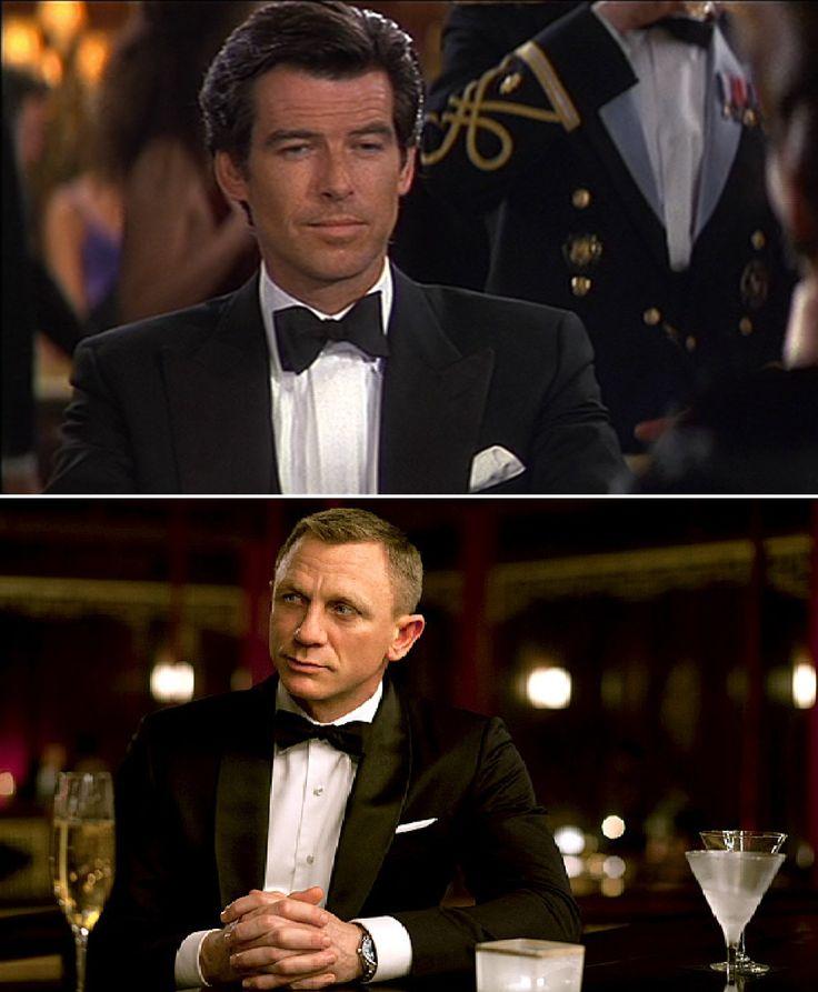 Poszetka to chusteczka, którą wkłada się do brustaszy - górnej kieszonki marynarki. Jej nazwa pochodzi z języka francuskiego - pochette. James Bond stawia na klasyczną biel.