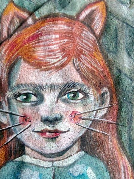 Illustrationen - Fuchs.fox...lady... - ein Designerstück von feicht bei DaWanda