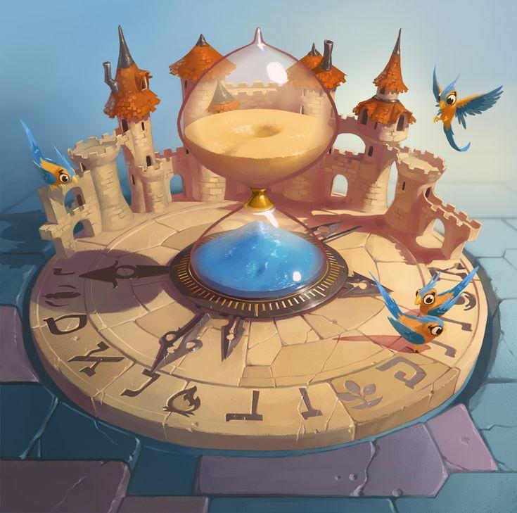 Sablier du temps by naiiade.deviantart.com on @deviantART