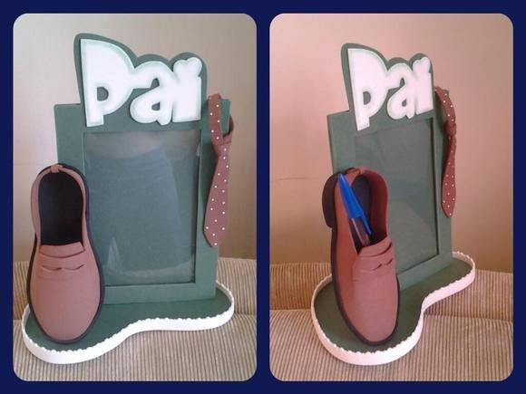 Porta retrato Sapato masculino