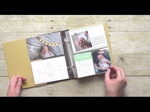 Hello Baby Boy Project Life® Card Collection Video by Stampin' Up! :: Creativelee Yours