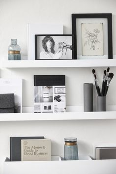 Hubsch interior photo frame with picture - Google Search