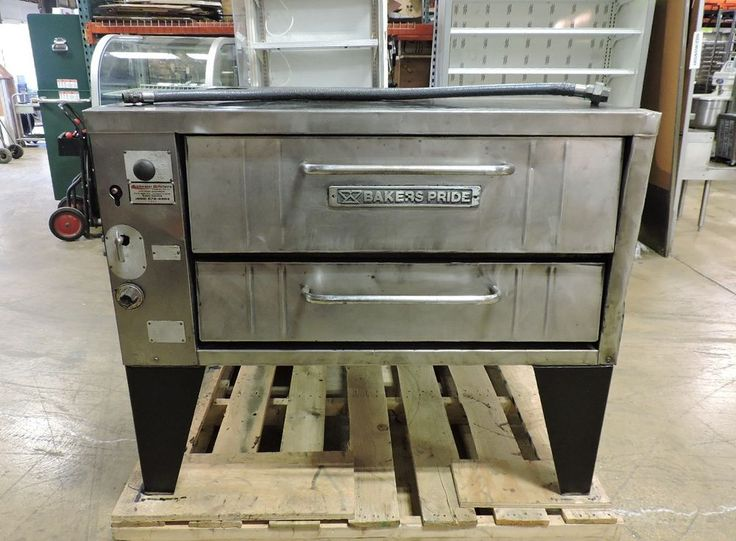 Bakers Pride 251 Commercial Convection Flow Gas Pizza Deck Oven #BakersPride