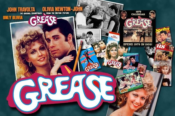Who doesn't love this movie? Grease Lightning, Go, Grease Lightning!