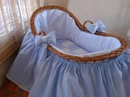 Resultado de imagen para moises para bebes decorados para baby shower