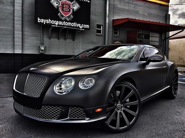 """2012 Bentley Continental GT MULLINER COUPE TWO-TONE BUY WRAP 22 """"SPEC-1"""