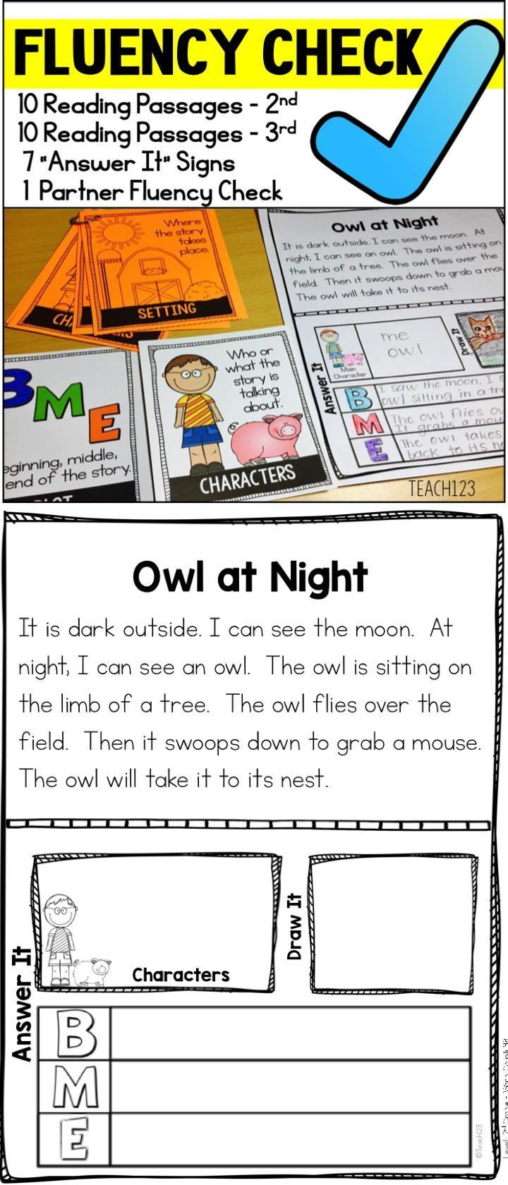 2nd grade reading fluency passages pdf
