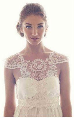 Australian designer Anna Campbell's stunning 2012 Collection. Wedding Dresses - Preety Lace Design