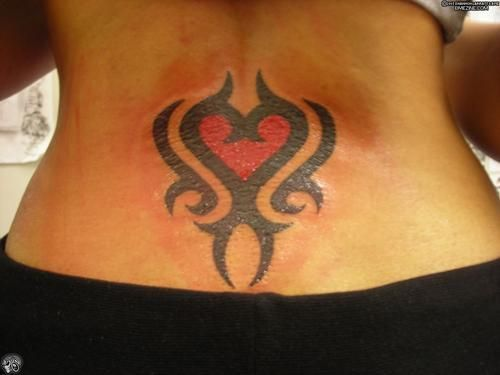 Hart on back with tribal, Hart on again with tribal Hart on again with tribal Ha…