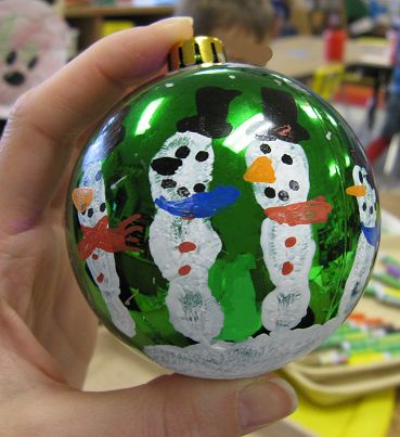 Five Snowmen Ornament and poem to print out! FREEBIE!
