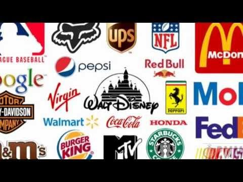 Famous Logos With Hidden Meanings Video. Highlights the not so easy to spot parts of famous logos, and explains their meanings. Once you know about the white arrow in the Fed-Ex logo, you will always see it!