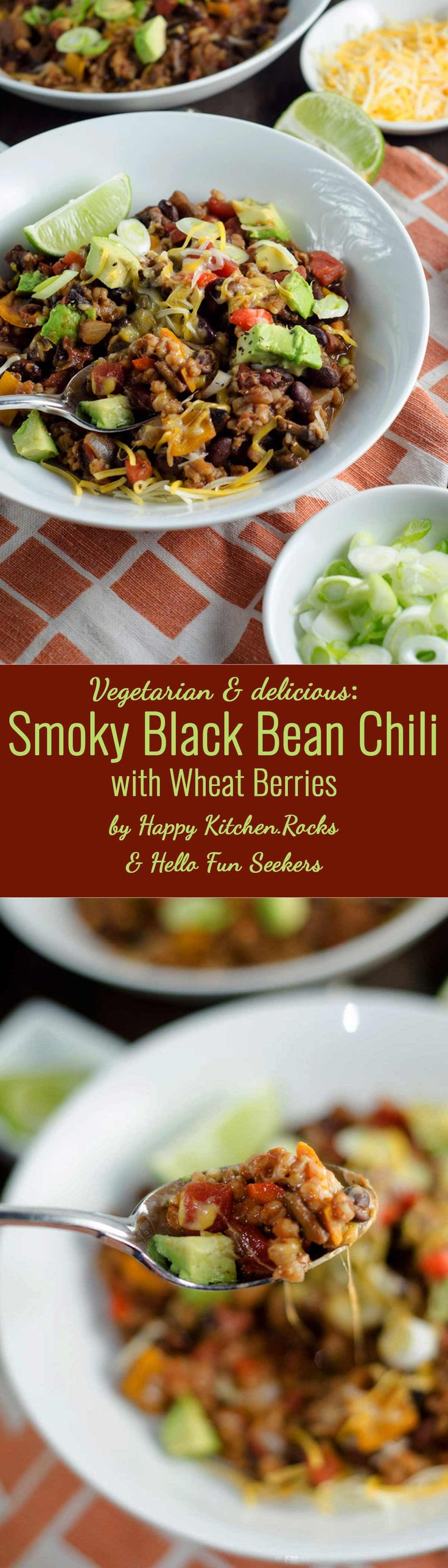 193 best happy kitchencks recipes images on pinterest easy delicious hearty and thick black bean chili recipe perfect for the cold season easy food recipes for lunch forumfinder Gallery