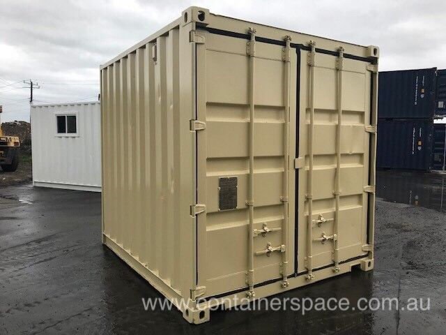 Buy 10ft Shipping Containers In Melbourne Containerspace Container House Plans Shipping Container Containers For Sale