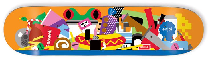 Bless This Mess: Enjoi skateboard decks designed by Craig & Karl