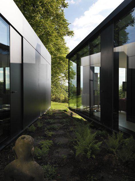 A new villa in the Chilterns, Hatfield, 2012 - Lazzarini Pickering Architetti