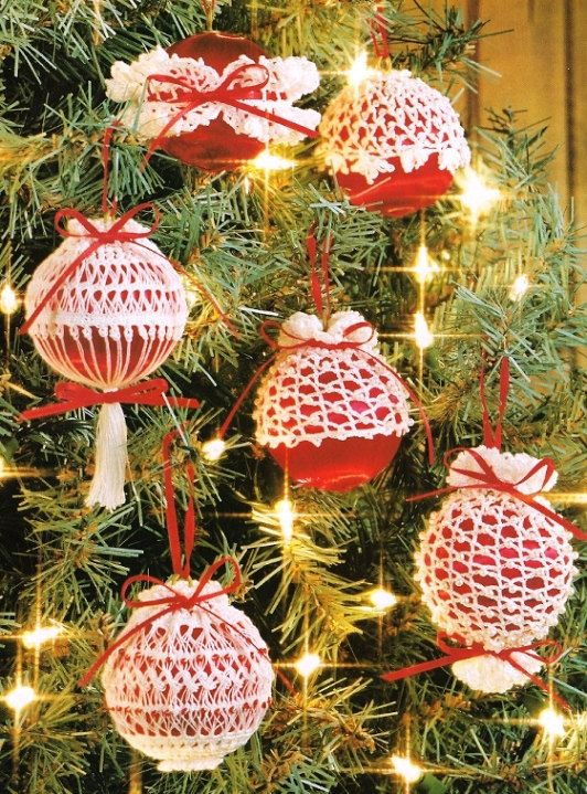 christmas+crochet+patterns+free+online | CROCHET PATTERNS FOR CHRISTMAS ORNAMENTS | Crochet For Beginners