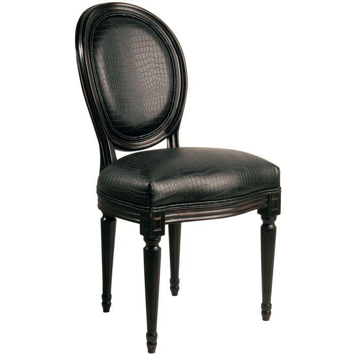 Metropolis Chair Louis Black   KARE Design