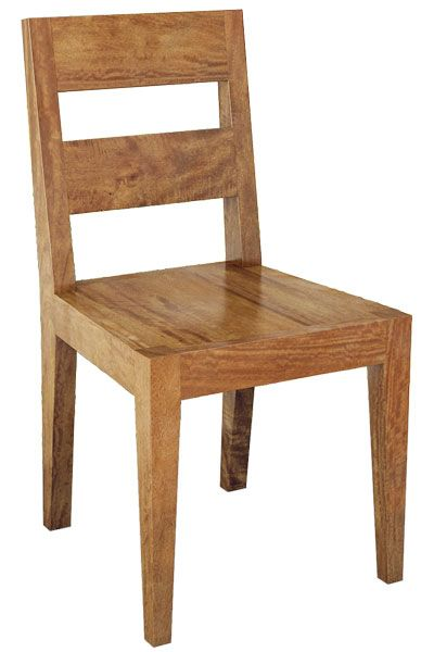 Montana Chair in Mango Wood. Available in store.
