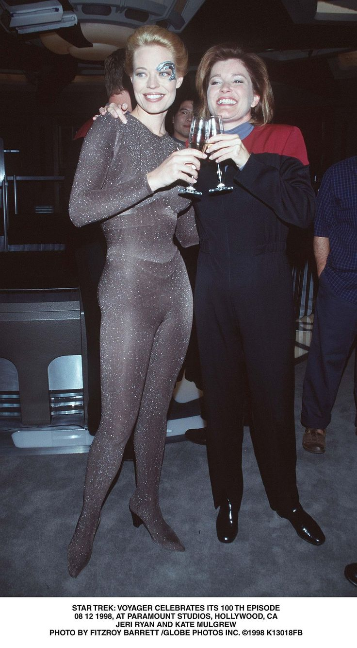 Star Trek Voyager 100th episode party Watch more...