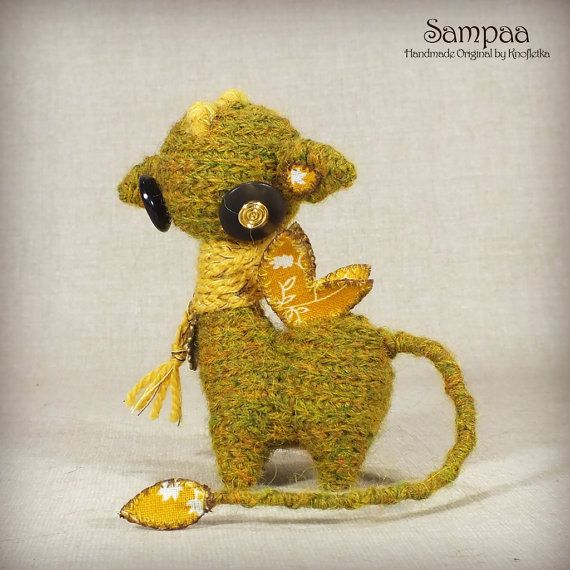 Sampaa - Original Handmade Little Dragon/Collectable/Gift/Charm