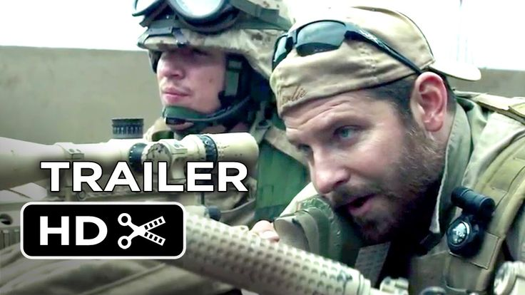 Bradley Cooper goes Navy SEAL. Check out the New Trailer for 'American Sniper'!