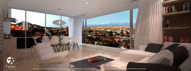 Edificio en santiago de Cali - Cuatro Exclusivos Apartamentos en el oeste de la cuidad - Barrio los Cristales