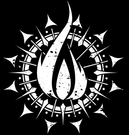 in flames band symbol want the tattoo tattoo ideas