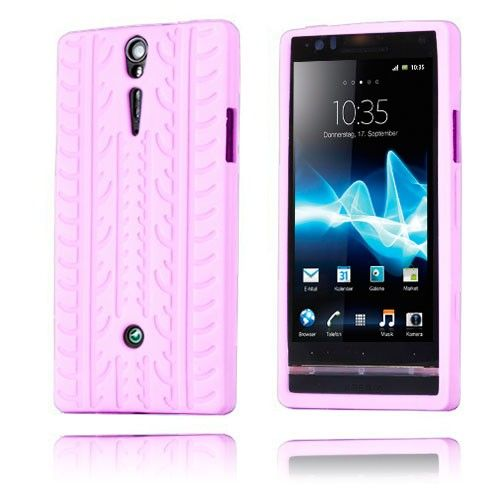 Tire (Pink) Sony Xperia S Cover