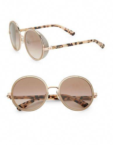ee861499776c Jimmy Choo 54MM Andie Round Sunglasses Women s Gold  JimmyChoo ...