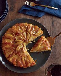 Maple-Apple Upside-Down Cake Recipe on Food & Wine