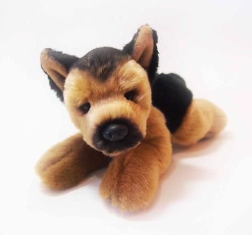 CUDDLY CRITTERS SOFT PLUSH GERMAN SHEPHERD DOG GUS I COOL CAT COLLECTABLES