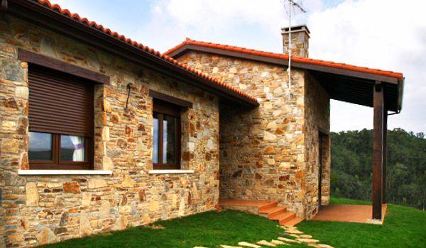imagenes de casas rusticas piedraccc
