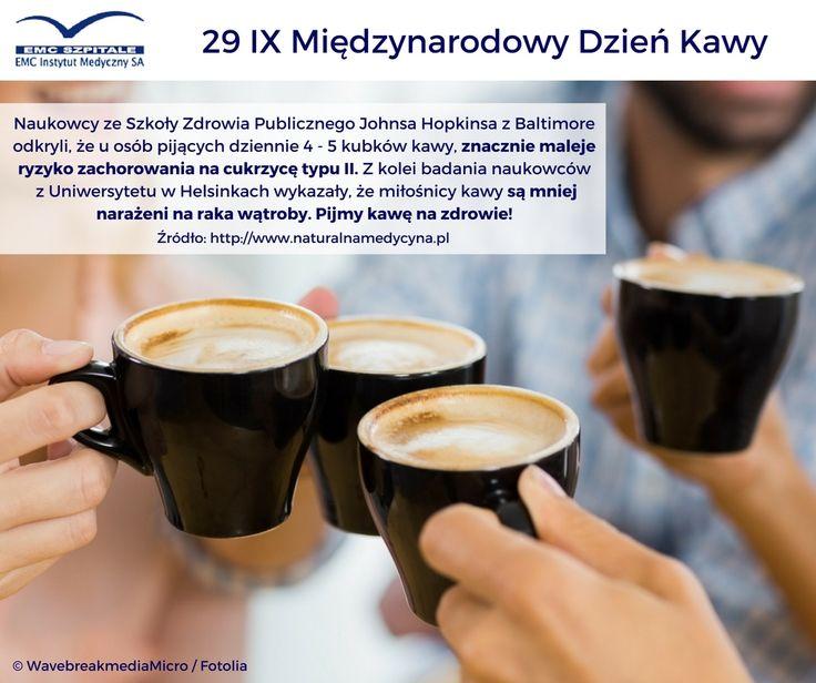 Dziś Międzynarodowy Dzień Kawy :) #kawa #zdrowie #emc #emcszpitalu
