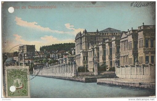 Palais de Dolma Bachtché