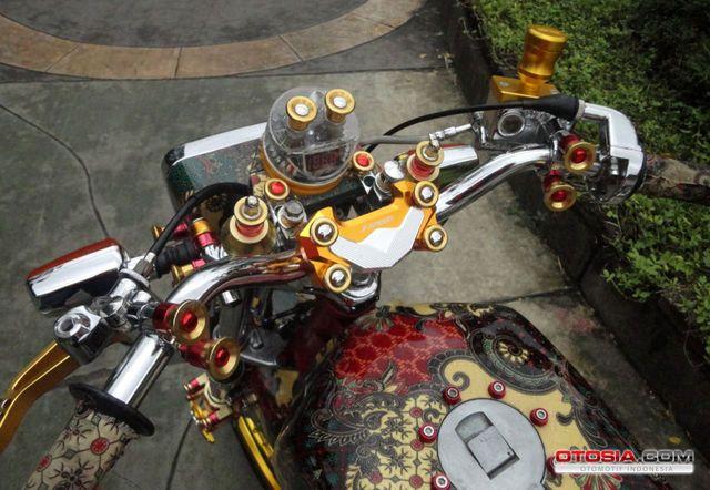 Modifikasi Motor RX King Batik