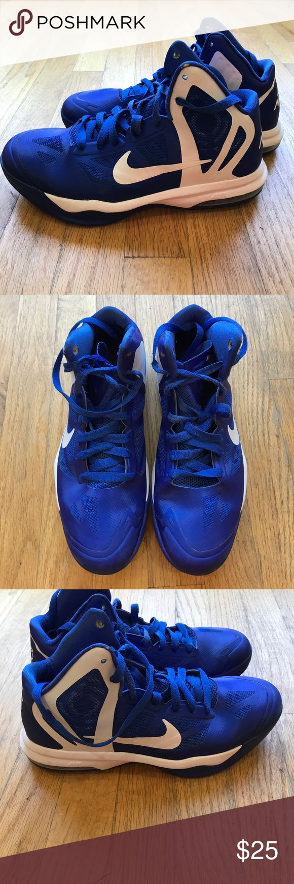 "Nike Air Max Hyper Aggressor Basketball Sneaker Excellent pre-owned condition Nike men's mid top sneaker. Padded tongue with ""HyperAggressor"" logo and Nike swoosh. Make an offer! Nike Shoes Athletic Shoes"