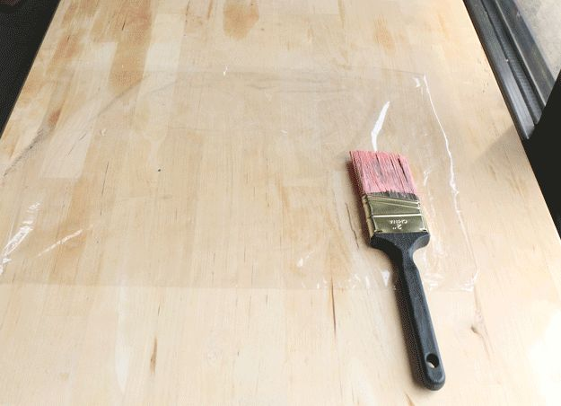 If your project moves into the next day, store used paintbrushes in the refrigerator to prevent drying. No need to clean up if you're going to use the same brush the next day. Wrap the brush in plastic and store in the fridge. You should be good to go when you start back up.